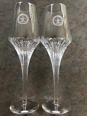 Remy Martin Louis xiii Solid Crystal Glasses (2) By Christophe Pillet 💥WOW💥