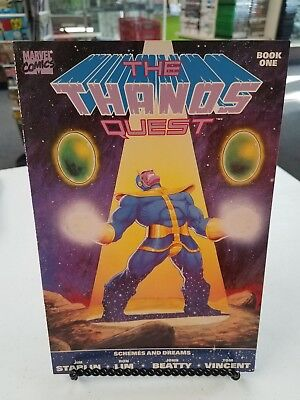Marvel Comics The Thanos Quest Book One Schemes & Dreams 1st Print Jim Starlin