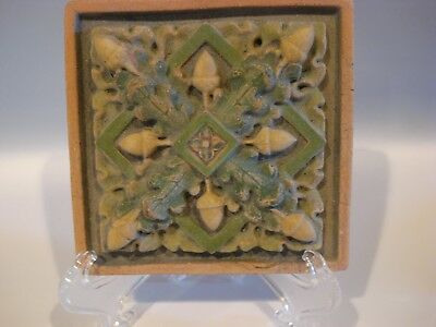 Acorns and Leaves Gothic ARTS AND CRAFTS  ELLISON TILE