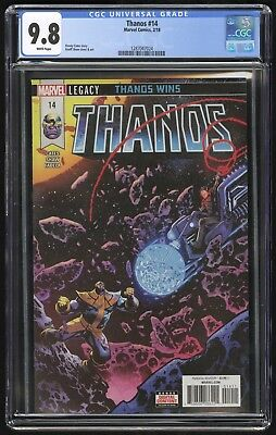 Thanos #14 (Marvel - 2/2018) CGC 9.8 NM+/MT - Cosmic Ghost Rider / Donny Cates!