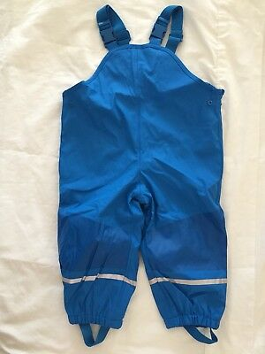 New Kids Toddler Winter Snow Pants Waterproof Overalls Girls Boys Size 1 - 2