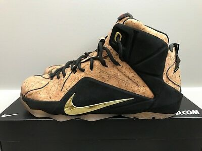 7206012ff8d Nike LeBron 12 XII EXT King s Cork Size 10 768829-100 kyrie bhm what the