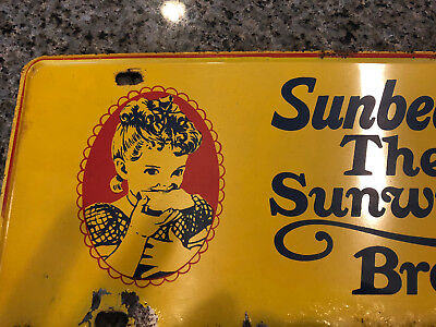 Vintage Sunbeam Sign!!