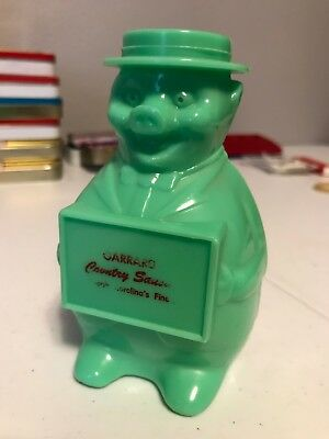 """Promotional """"Dapper Pig"""" plastic bank mid-century, advertising, fun collectible!"""