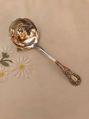 "Towle Old Master Sterling Gravy Ladle 6-3/4"" Post 1940 No Monograms"