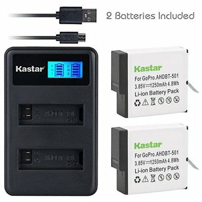 Battery & LCD Dual Charger for  GoPro HERO7 Black