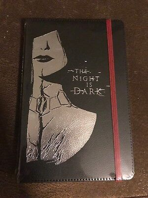 LootCrate Exclusive Game of Thrones Notebook November 2016 The Night is Dark