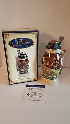 "Anheuser Busch 2005 Collectors Club ""the Hitch At Home"" Cb31 Lidded Stein Nib"
