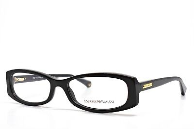 237d9118076 Emporio Armani Eyeglasses 3007 5017 Black New Authentic 53-16-140 without  case