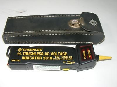 Greenlee Touchless AC Voltage Indicator 2010 24V - 1500V AC with Case