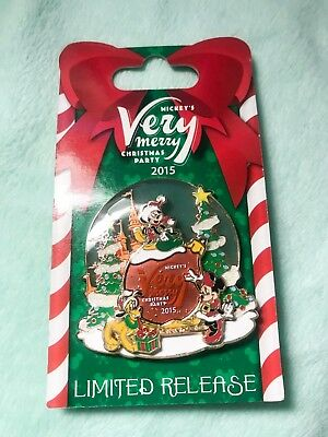 Limited Disney Park Mickey's Very Merry Christmas 2015 Collectible Pin MVMCP