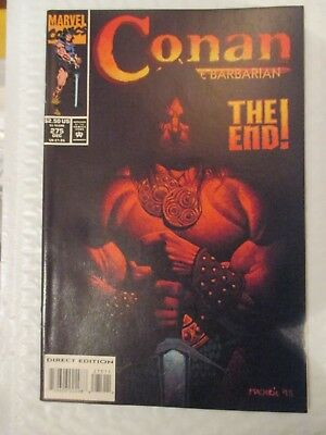 Conan The Barbarian #275 1993 Last Issue, Low Print