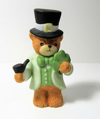 Lucy & Me ~ IRISH ST. PATRICK'S DAY Shamrock ~ Enesco Rigg Figurine