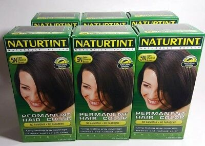 Permanent Hair Color - 5N Light Chestnut Brown 6-Pack (5.28 oz) Free Shipping