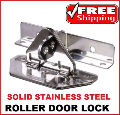 Abus Roller Door Lock Anchor Solid Stainless Steel  Gatesec Ab138