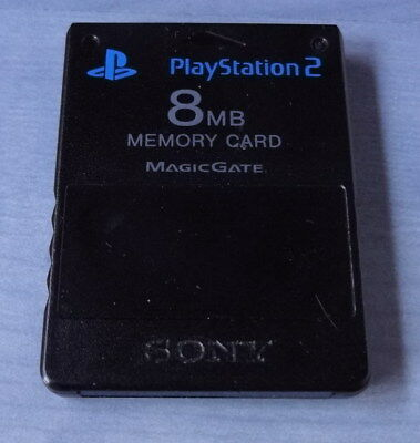 Original Sony Memory Card 8 MB Speicherkarte fuer Playstation 2 PS2