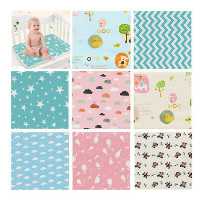 Baby Change Mat, Waterproof Mat Soft Minky Large Urine Mat Change Pad Cover AU