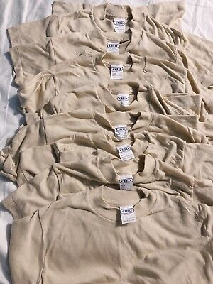 Vintage Ched Anvil Shirt Lot 8 Shirts Deadstock Screen Stars Youth Large 70's