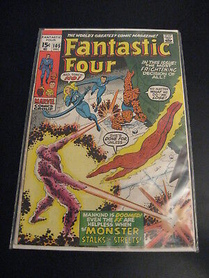 FANTASTIC FOUR #105 (FN+/VF-, Closer to VF-) **Very Bright & Super Glossy!**