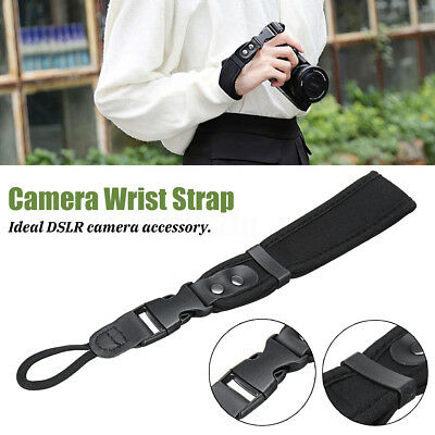 Camera Hand Grip Adjustable For Canon Nikon Sony SLR/DSLR Cloth Wrist Strap