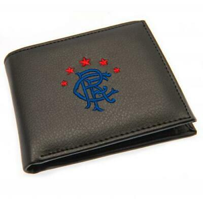 Rangers FC Embroidered PU Leather Money Wallet Club Crest Purse Gift Xmas New