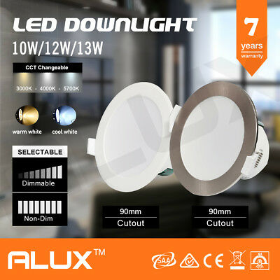 10W 12W 13W Led Downlight Kit Led Warm & Day Light White Led Kit Dimmable & Non