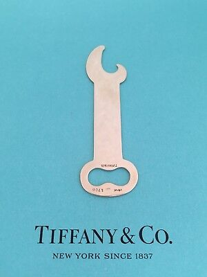 Tiffany & Co 14K Yellow Gold Bottle Opener Vintage Collectible. 1756