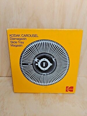 Kodak Carousel Slide Tray + Box - 80 Slides