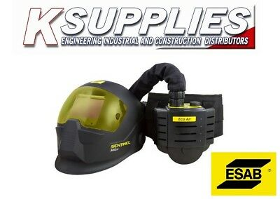ESAB SENTINEL A50 WELDING HELMET MASK 5-13 AIR FED WITH ECO AIR *Free Next Day*
