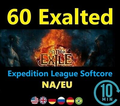 60 x Exalted Orb SYNTHESIS League Softcore (Path of Exile POE SC) 60 ex EU/NA/UK