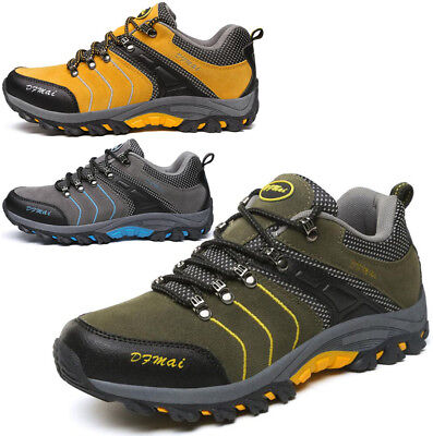 Mens Waterproof Walking Trail Hiking Trekking Boots Sports Trainers Casual Shoes