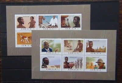Namibia 2006 Traditional Role of Men in Namibia Miniature Sheets MNH