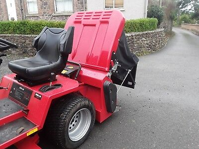 Countax Diesel Dln20/50 Mower -  50Inch Ibs Deck  & Sweeper Collector.