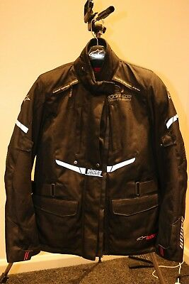 Alpinestars Stella Andes DryStar Ladies Motorcycle Jacket Womens Size L