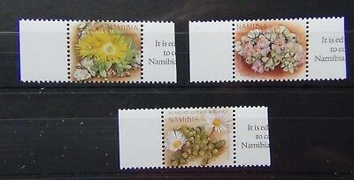 Namibia 2007 Indigenous Flowers of Namibia set MNH