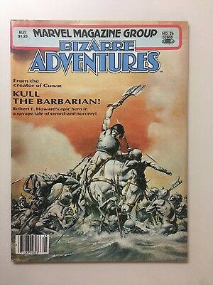 Marvel Magazine Group Bizarre Adventures Kull The Barbarian! #26 Marvel, 1981