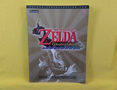 gamecube ZELDA The Legend of the Wind Waker Piggyback's Official Strategy Guide