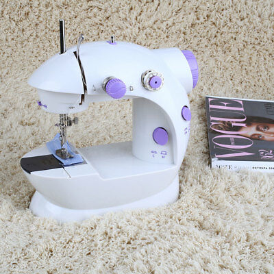 E054 New Multifunctional Portable Electric Mini Sewing Machine Desktop With Led