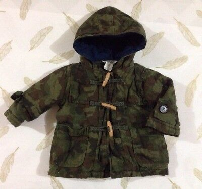 Cotton On Baby Boys Hooded Jacket Camo 3-6 Months 00