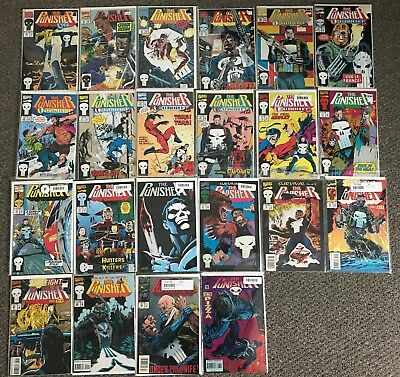 Punisher Vol. 2 issue lot Great condition Luke Cage Marvel Eurohit