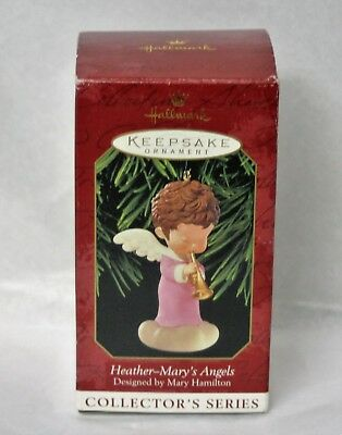Hallmark Ornament Mary's Angels Heather 12th in series