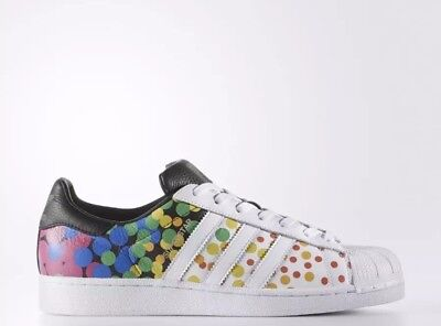 a679838b3cee Adidas Originals Superstar Pride Pack Rainbow Lgbt Shoes Size Men s Us 12  Cm7802