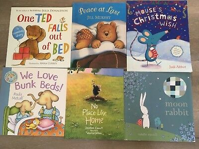 6 childrens books from the book people