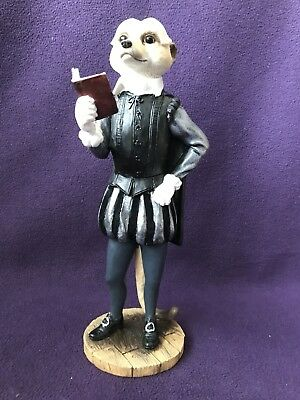 "COUNTRY ARTISTS MAGNIFICENT MEERKATS CA04150 ""William"" WILLIAM SHAKESPEARE"