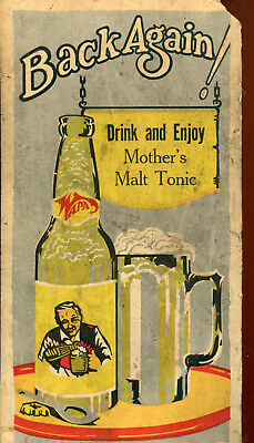 Ohio-Wapakoneta-Koch Beverage Co.-Mother's Malt Tonic for stomach -sleep problem