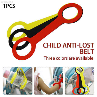 336C Stroller Accessories Silicone Cute Baby Bottle Strap Baby Stroller Handle