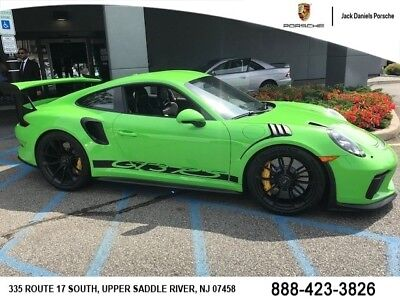 911 Gt3 Rs 2019 Porsche 911 Gt3 Rs Lizard Green Chrono Package Ceramic Brakes Bose