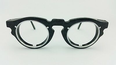 IDC Vintage Frame, Striking glasses with round lenses, men Model 768 matt black