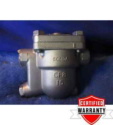 "NEW TLV J3S-X-21 /A free float steam trap 1/2"" in CF8 1 year warranty"
