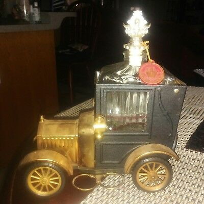 1918  Model  T  Music Box  Whiskey Decanter ~ Dated 1973 ~  Made  in  Hong  Kong